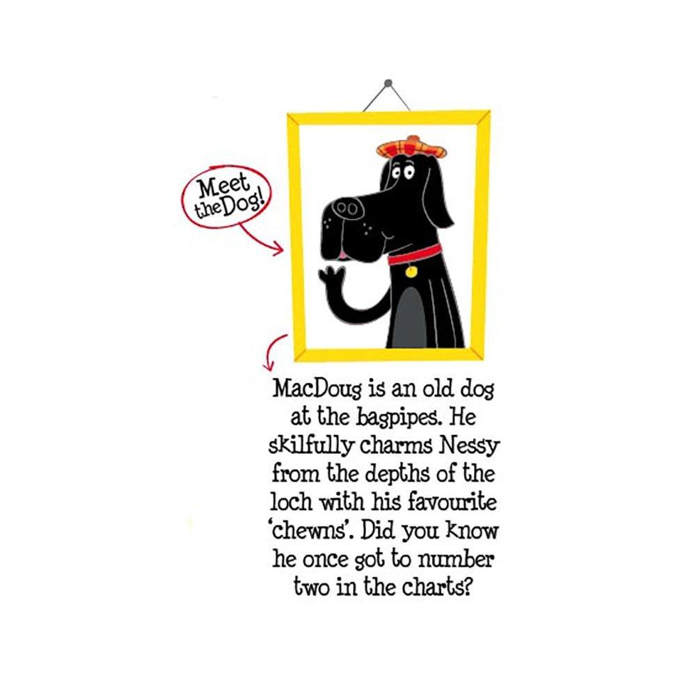 Harris Tweed Doggy Bag Dispenser by Bertie Girl - Auch Aye the Poo