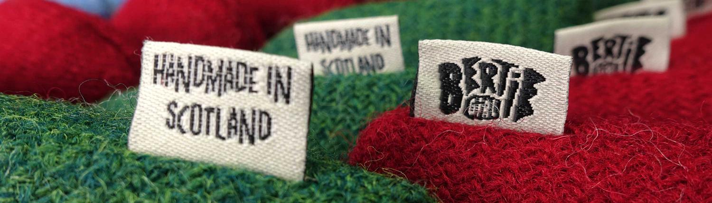 Harris Tweed Gifts Handmade in Scotland by Bertie Girl